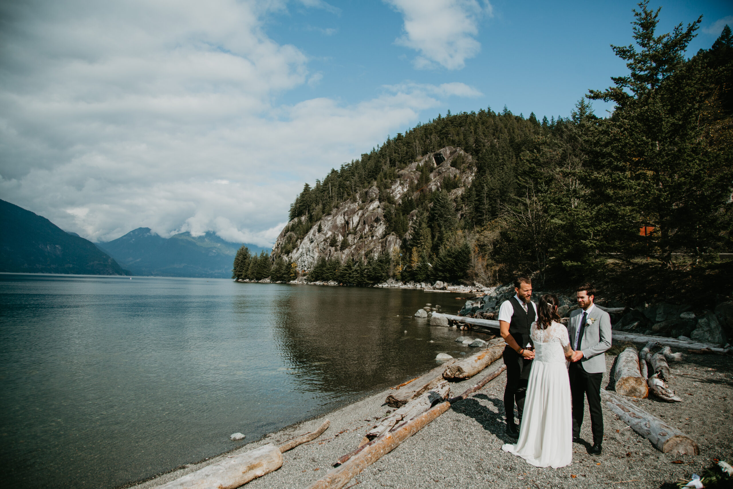 Porteau Cove wedding