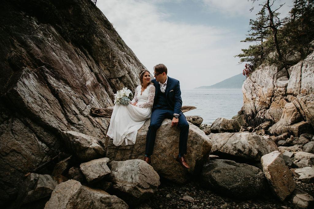 Whytecliff Park elopement