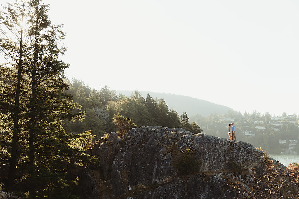 Vancouver elopement at Whytecliff Park