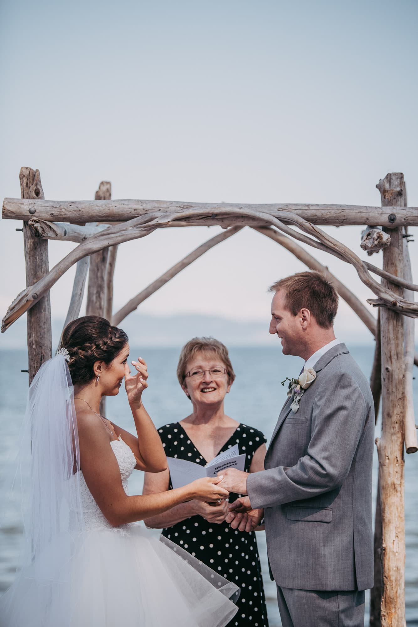 Elopement at The Beach House Restaurant in Victoria