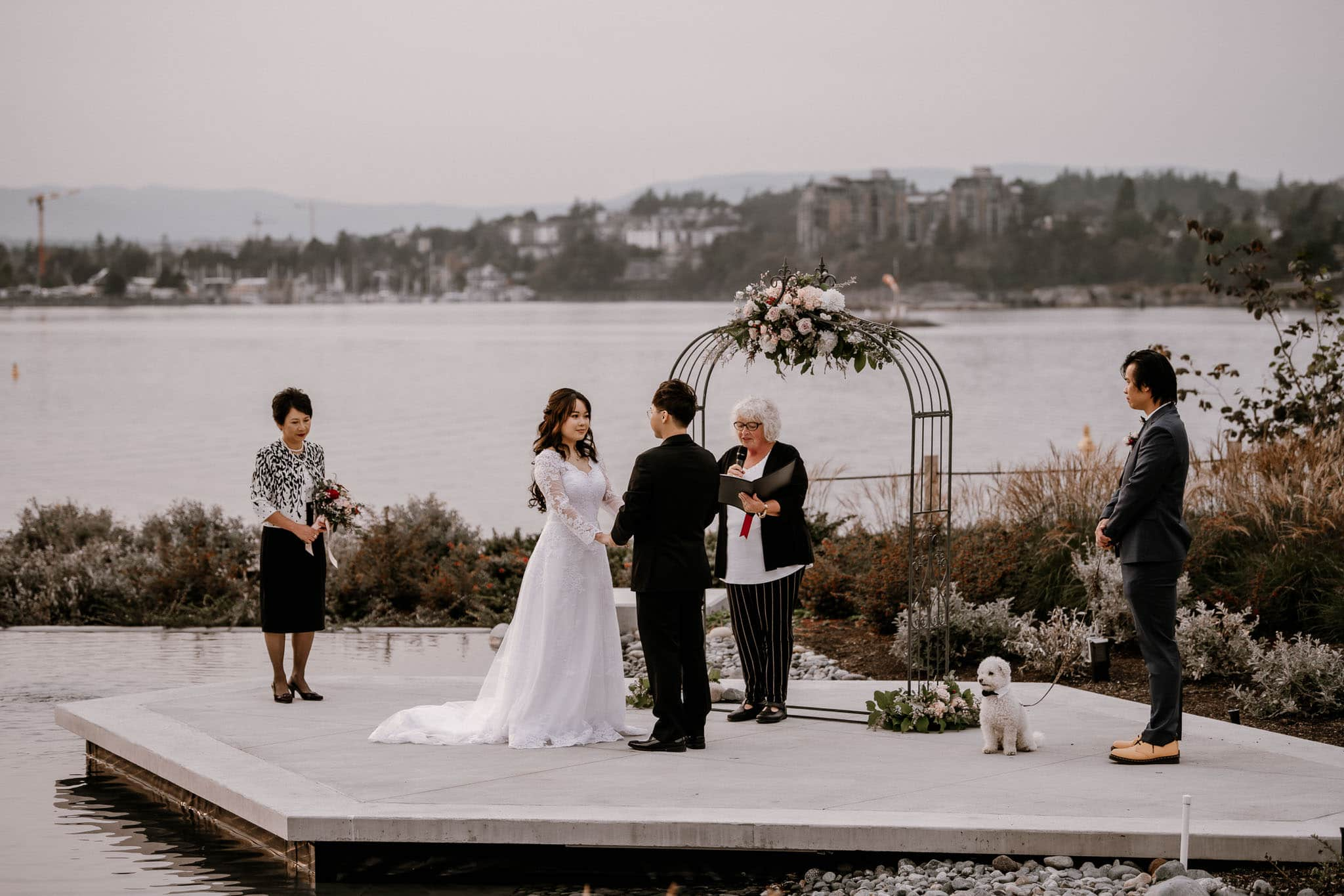 The Inn at Laurel Point wedding and Victoria elopement