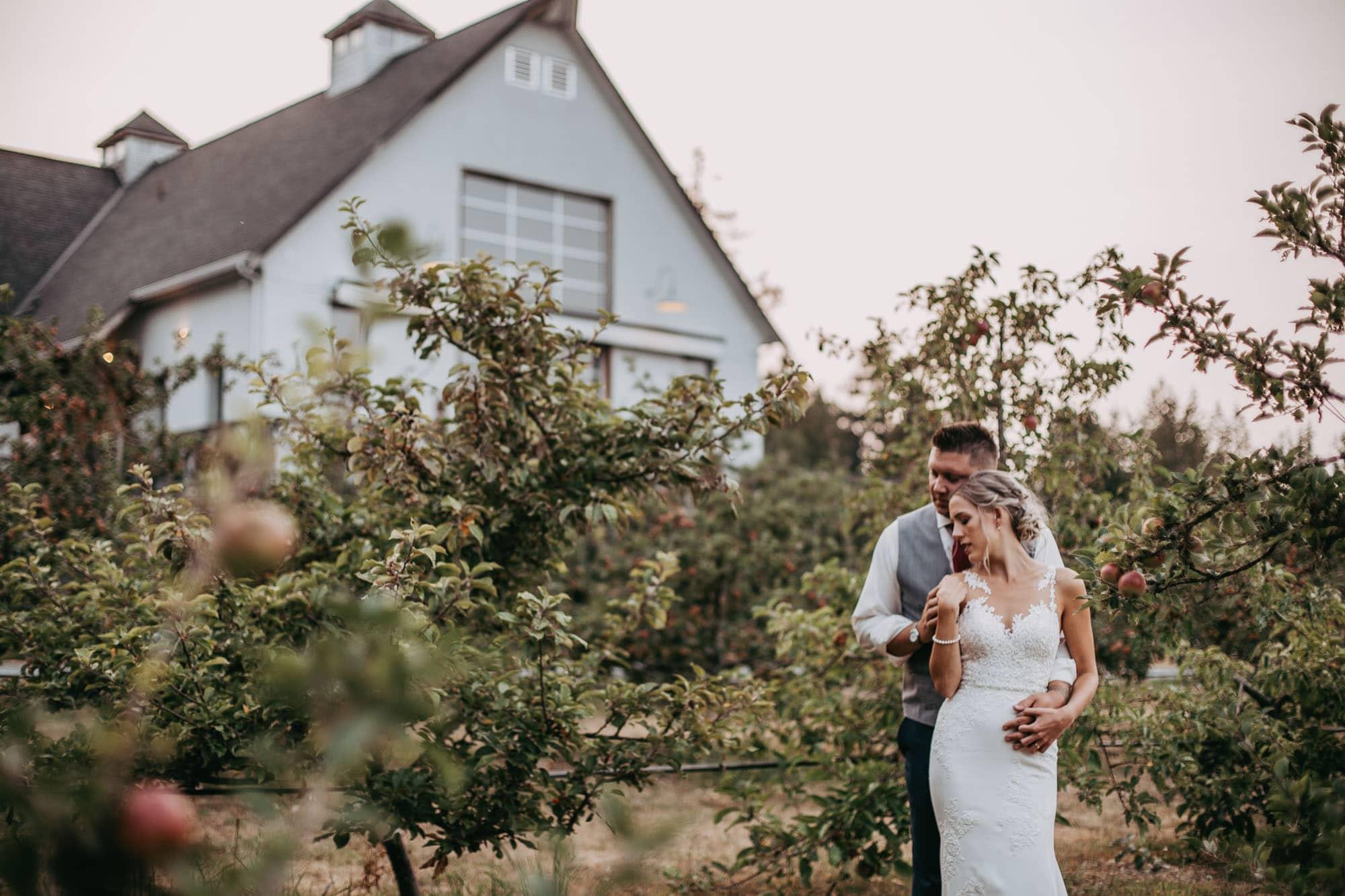 Sea Cider Farm & Ciderhouse wedding