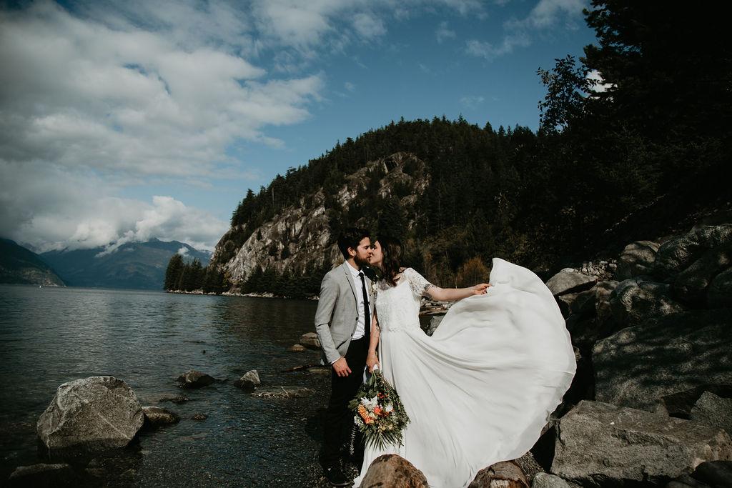 Porteau Cove wedding elopement